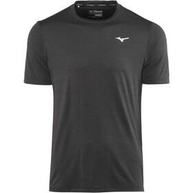 Mizuno Impulse Core Maglietta da corsa Uomo, nero